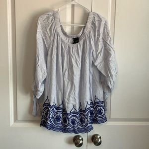 ND New Directions Curvy Top